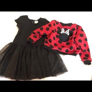 Disney Pippa & Julie reversible jacket & dress